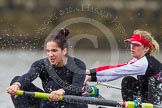 The Boat Race season 2014 - fixture CUWBC vs Thames RC: In the Thames RC boat 3 Jordan Cole-Hossain, 2 Vicki Mortimor..     on 02 March 2014 at 13:11, image #60