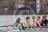 The Boat Race season 2014 - fixture CUWBC vs Thames RC.     on 02 March 2014 at 13:15, image #107