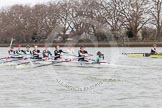 The Boat Race season 2014 - fixture CUWBC vs Thames RC.     on 02 March 2014 at 13:57, image #139