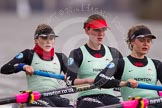 The Boat Race season 2014 - fixture CUWBC vs Thames RC: In the Cambridge boat at bow Caroline Reid, 2 Kate Ashley, 3 Holly Game..     on 02 March 2014 at 13:57, image #148
