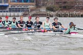 The Boat Race season 2014 - fixture CUWBC vs Thames RC.     on 02 March 2014 at 14:00, image #164