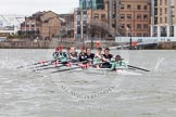 The Boat Race season 2014 - fixture CUWBC vs Thames RC.     on 02 March 2014 at 14:02, image #170