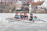 The Boat Race season 2014 - fixture CUWBC vs Thames RC.     on 02 March 2014 at 14:02, image #172
