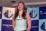 The Boat Race season 2014 - Crew Announcement and Weigh In: The 2014 Women's Boat Race crews: Cambridge bow Caroline Reid - 64.4kg.. BNY Mellon Centre, London EC4V 4LA, London, United Kingdom, on 10 March 2014 at 11:44, image #15