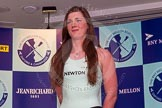The Boat Race season 2014 - Crew Announcement and Weigh In: The 2014 Women's Boat Race crews: Cambridge 2 seat Kate Ashley - 75kg.. BNY Mellon Centre, London EC4V 4LA, London, United Kingdom, on 10 March 2014 at 11:45, image #18