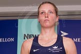 The Boat Race season 2014 - Crew Announcement and Weigh In: The 2014 Women's Boat Race crews: Oxford 2 seat Alice Carrington-Windo - 67.2kg.. BNY Mellon Centre, London EC4V 4LA, London, United Kingdom, on 10 March 2014 at 11:45, image #20