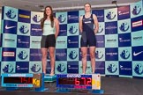 The Boat Race season 2014 - Crew Announcement and Weigh In: The 2014 Women's Boat Race crews, Cambridge 2 seat Kate Ashley and Oxford 2 seat Alice Carrington-Windo.. BNY Mellon Centre, London EC4V 4LA, London, United Kingdom, on 10 March 2014 at 11:45, image #22