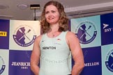 The Boat Race season 2014 - Crew Announcement and Weigh In: The 2014 Women's Boat Race crews: Cambridge 3 seat Holly Game - 74.6kg.. BNY Mellon Centre, London EC4V 4LA, London, United Kingdom, on 10 March 2014 at 11:46, image #24
