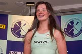 The Boat Race season 2014 - Crew Announcement and Weigh In: The 2014 Women's Boat Race crews: Cambridge 5 seat Catherine Foot - 71kg.. BNY Mellon Centre, London EC4V 4LA, London, United Kingdom, on 10 March 2014 at 11:47, image #35