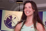 The Boat Race season 2014 - Crew Announcement and Weigh In: The 2014 Women's Boat Race crews: Cambridge 5 seat Catherine Foot - 71kg.. BNY Mellon Centre, London EC4V 4LA, London, United Kingdom, on 10 March 2014 at 11:47, image #36