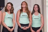 The Boat Race season 2014 - Crew Announcement and Weigh In: Holly Game, Isabella Vyvyan and Catherine Foot.. BNY Mellon Centre, London EC4V 4LA, London, United Kingdom, on 10 March 2014 at 11:48, image #38