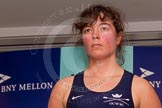 The Boat Race season 2014 - Crew Announcement and Weigh In: The 2014 Women's Boat Race crews: Oxford 6 seat Lauren Kedar - 75.4kg.. BNY Mellon Centre, London EC4V 4LA, London, United Kingdom, on 10 March 2014 at 11:48, image #41