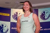 The Boat Race season 2014 - Crew Announcement and Weigh In: The 2014 Women's Boat Race crews: Cambridge 6 seat Melissa Wilson - 77kg.. BNY Mellon Centre, London EC4V 4LA, London, United Kingdom, on 10 March 2014 at 11:48, image #42