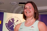 The Boat Race season 2014 - Crew Announcement and Weigh In: The 2014 Women's Boat Race crews: Cambridge 6 seat Melissa Wilson - 77kg.. BNY Mellon Centre, London EC4V 4LA, London, United Kingdom, on 10 March 2014 at 11:48, image #43