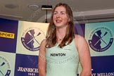 The Boat Race season 2014 - Crew Announcement and Weigh In: The 2014 Women's Boat Race crews: Cambridge 7 seat Claire Watkins - 72.6kg.. BNY Mellon Centre, London EC4V 4LA, London, United Kingdom, on 10 March 2014 at 11:49, image #46