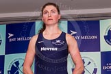 The Boat Race season 2014 - Crew Announcement and Weigh In: The 2014 Women's Boat Race crews: Oxford stroke Laura Savarese - 73.6kg.. BNY Mellon Centre, London EC4V 4LA, London, United Kingdom, on 10 March 2014 at 11:50, image #50