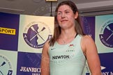 The Boat Race season 2014 - Crew Announcement and Weigh In: The 2014 Women's Boat Race crews: Cambridge stroke Emily Day - 64kg.. BNY Mellon Centre, London EC4V 4LA, London, United Kingdom, on 10 March 2014 at 11:50, image #52