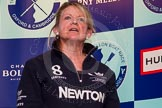 The Boat Race season 2014 - Crew Announcement and Weigh In: Christine Wilson, Oxford.. BNY Mellon Centre, London EC4V 4LA, London, United Kingdom, on 10 March 2014 at 11:54, image #67