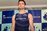 The Boat Race season 2014 - Crew Announcement and Weigh In: The 2014 Boat Race crews, Oxford bow Storm Uru - 80.4kg.. BNY Mellon Centre, London EC4V 4LA, London, United Kingdom, on 10 March 2014 at 11:57, image #75