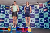 The Boat Race season 2014 - Crew Announcement and Weigh In: The 2014 Boat Race crews, Cambridge 4 seat Steve Dudek and Oxford 4 seat Thomas Swartz.. BNY Mellon Centre, London EC4V 4LA, London, United Kingdom, on 10 March 2014 at 12:00, image #90