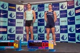 The Boat Race season 2014 - Crew Announcement and Weigh In: The 2014 Boat Race crews, Cambridge 6 seat Matthew Jackson and Oxford 6 seat Michael DiSanto.. BNY Mellon Centre, London EC4V 4LA, London, United Kingdom, on 10 March 2014 at 12:03, image #99