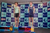 The Boat Race season 2014 - Crew Announcement and Weigh In: The 2014 Boat Race crews, Cambridge cox Ian Middleton and Oxford cox Laurence Harvey.. BNY Mellon Centre, London EC4V 4LA, London, United Kingdom, on 10 March 2014 at 12:05, image #115
