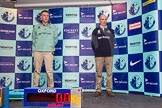The Boat Race season 2014 - Crew Announcement and Weigh In: The 2014 Boat Race coaches, Cambridge - Steve Trapmore, and Oxford - Sean Bowden.. BNY Mellon Centre, London EC4V 4LA, London, United Kingdom, on 10 March 2014 at 12:07, image #120