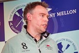 The Boat Race season 2014 - Crew Announcement and Weigh In: The 2014 Boat Race coaches: Cambridge - Steve Trapmore.. BNY Mellon Centre, London EC4V 4LA, London, United Kingdom, on 10 March 2014 at 12:08, image #124