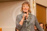 Judith Behan, in charge of the 2014 Henley Boat Races,closing the event.