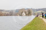 The Women's Boat Race and Henley Boat Races 2014: The finish of the Henley Boat Races at Temple Island.. River Thames, Henley-on-Thames, Buckinghamshire, United Kingdom, on 30 March 2014 at 11:43, image #2