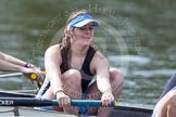 The Women's Boat Race and Henley Boat Races 2014: The Intercollegiate Women 's Race, in the Wadham College boat 4 seat Rachel Anderson.. River Thames, Henley-on-Thames, Buckinghamshire, United Kingdom, on 30 March 2014 at 13:39, image #65