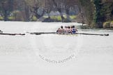 The Women's Boat Race and Henley Boat Races 2014: The Intercollegiate men's race. Oriel College (Oxford) on the right, Downing College (Cambridge) on the left.. River Thames, Henley-on-Thames, Buckinghamshire, United Kingdom, on 30 March 2014 at 13:51, image #77