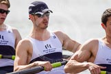 The Women's Boat Race and Henley Boat Races 2014: The Intercollegiate Men 's Race, in the Oriel College boat in the 5 seat Judah Rand, and 6 Calum Pontin.. River Thames, Henley-on-Thames, Buckinghamshire, United Kingdom, on 30 March 2014 at 14:00, image #125