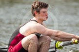 The Women's Boat Race and Henley Boat Races 2014: The Intercollegiate Men 's Race, in the Downing College boat at bow Ryan Mcpherson.. River Thames, Henley-on-Thames, Buckinghamshire, United Kingdom, on 30 March 2014 at 14:00, image #129
