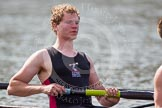 The Women's Boat Race and Henley Boat Races 2014: The Intercollegiate Men 's Race, in the Downing College boat in the 3 seat Roman Kolacz.. River Thames, Henley-on-Thames, Buckinghamshire, United Kingdom, on 30 March 2014 at 14:00, image #131