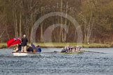 The Women's Boat Race and Henley Boat Races 2014: The Women's Reserves - Osiris v. Blondie race. Osiris (Oxford) has just won the race.. River Thames, Henley-on-Thames, Buckinghamshire, United Kingdom, on 30 March 2014 at 14:18, image #181