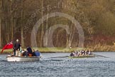 The Women's Boat Race and Henley Boat Races 2014: The Women's Reserves - Osiris v. Blondie race. Osiris (Oxford) has just won the race.. River Thames, Henley-on-Thames, Buckinghamshire, United Kingdom, on 30 March 2014 at 14:18, image #182