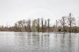 The Women's Boat Race and Henley Boat Races 2014: The Lightweight Women's Boat Race - the OUWLRC is now leading the CUWBC Lightweights by over a length.. River Thames, Henley-on-Thames, Buckinghamshire, United Kingdom, on 30 March 2014 at 14:49, image #228