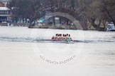 The Women's Boat Race and Henley Boat Races 2014: The Newton Women's Boat Race: Here the Cambridge Eight.. River Thames, Henley-on-Thames, Buckinghamshire, United Kingdom, on 30 March 2014 at 15:13, image #287