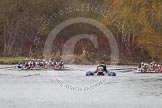 The Women's Boat Race and Henley Boat Races 2014: The Newton Women's Boat Race - the Oxford and Cambridge crews resting for a moment after the race.. River Thames, Henley-on-Thames, Buckinghamshire, United Kingdom, on 30 March 2014 at 15:16, image #326