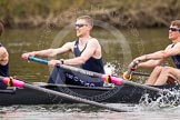 The Women's Boat Race and Henley Boat Races 2014: The Lightweight Men's Boat Race - OULRC vs CULRC. In the Oxford boat 2 seat David Zimmer, bow Dan Bowen.. River Thames, Henley-on-Thames, Buckinghamshire, United Kingdom, on 30 March 2014 at 15:40, image #387