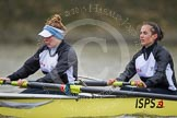 Molesey BC's Orla Hates and Eve Newton