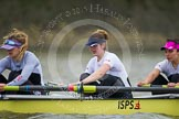 Molesey BC's Sam Fowler, Helen Roberts, and Aimee Jonkers