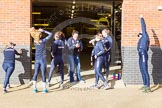 The Boat Race season 2015: OUWBC training Wallingford.  Wallingford,  United Kingdom, on 04 March 2015 at 15:14, image #10