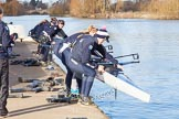 The Boat Race season 2015: OUWBC training Wallingford.  Wallingford,  United Kingdom, on 04 March 2015 at 15:25, image #17