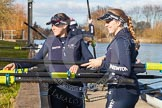 The Boat Race season 2015: OUWBC training Wallingford.  Wallingford,  United Kingdom, on 04 March 2015 at 15:26, image #19