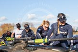 The Boat Race season 2015: OUWBC training Wallingford.  Wallingford,  United Kingdom, on 04 March 2015 at 15:27, image #21