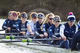 The Boat Race season 2015: OUWBC training Wallingford.  Wallingford,  United Kingdom, on 04 March 2015 at 15:38, image #34