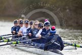 The Boat Race season 2015: OUWBC training Wallingford.  Wallingford,  United Kingdom, on 04 March 2015 at 15:39, image #35
