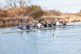 The Boat Race season 2015: OUWBC training Wallingford.  Wallingford,  United Kingdom, on 04 March 2015 at 15:47, image #82